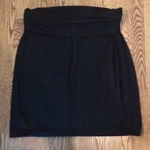 ❤️Gap Black Foldover Skirt